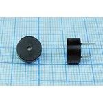 Фото 2/2 Излучатель звука магнитоэлектрический со встроенным генератором 12В, диаметр 9,6мм згм 10x 5\12\\2,7\2P5\ KPX9650B-12\KEPO