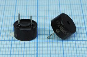 Фото 1/2 Излучатель звука магнитоэлектрический со встроенным генератором 5В, диаметр 9,6мм згм 10x 5\ 5\\2,7\2P5\ KPX9650B-5\KEPO