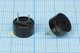 Фото 1/2 Излучатель звука магнитоэлектрический со встроенным генератором 12В, диаметр 9,6мм згм 10x 5\12\\2,7\2P5\ KPX9650B-12\KEPO