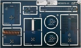 Фото 1/2 MSC-AMS434-EK, Development Kit, 434MHz Antenna Matrix, For All SiLabs RF Radio Boards, SMA Connector