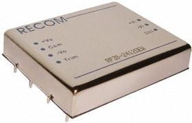 RP30-2415DEW, DC-DC преобразователь, 30Вт,10-40В/±15В, 1A
