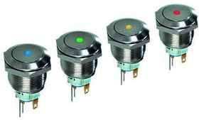 AV091L3EA240K, Switch,pushbutton,19mm,st
