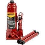50322, Домкрат гидравлический бутылочный, 3т, h подъема 180-340 мм