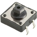 1571627-1 (FSM103A), Кнопка тактовая h=7.3 мм SPST
