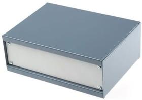 DG236, GREY STANDARD STEEL CASE,204X152X76MM