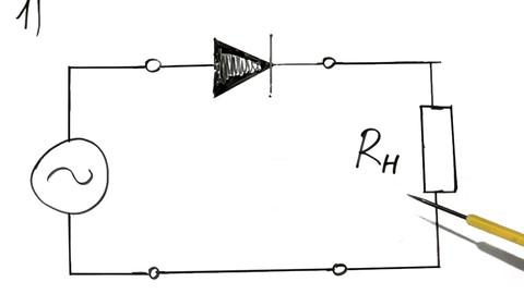 Выпрямитель преобразует переменный ток в постоянный.  Выпрямительные схемы являются самыми простыми и наиболее...