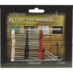 K/DIODE1, 120 Piece Misc Diode Kit
