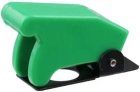 SAC-01 зелёный, Колпачок предохранительный для тумблеров ASW-07D, KN3(A-D)
