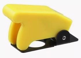 SAC-01 желтый, Колпачок предохранительный для тумблеров ASW-07D, KN3(A-D)