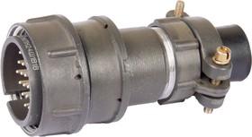 Фото 1/4 2РМТ27КПН24Ш1В1, Вилка на кабель с прямым патрубком для неэкранированного кабеля