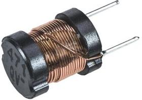 ELC08D471E, Choke Wirewound 470uH 10% 10KHz Ferrite 360mA 610mOhm DCR RDL