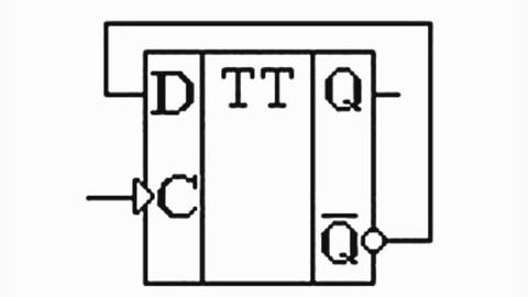 Q1t+0,5 в табл 82 представлена таблица переходов триггера со счетным входом