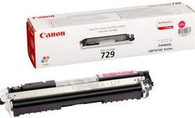 Картридж CANON 729M 4368B002, пурпурный