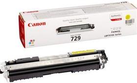 Картридж CANON 729Y 4367B002, желтый