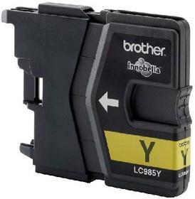 Картридж BROTHER LC985Y желтый