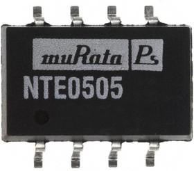 NTE0505MC, DC/DC преобразователь, 1 Вт, вход 4.5-5.5В, выход 5в/0.2А, SMD
