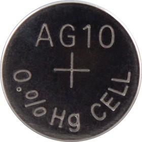 Фото 1/2 189(LR54), Элемент питания марганцево-цинковый (1шт) 1.5В