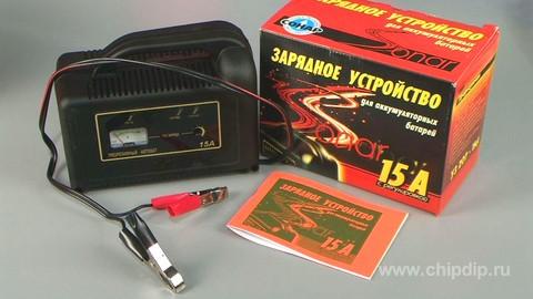 Устройство зарядное Сонар УЗ 207-15А предназначено для заряда автомобильных свинцово-кислотных аккумуляторных батарей...
