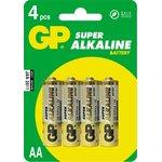 15A (A316/LR6/AA)4, Элемент питания алкалиновый Super (4шт) 1.5В