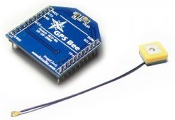 GPS Bee kit (with Mini Embedded Antenna), Модуль GPS со встроенной антенной