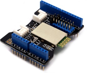 Фото 1/4 Bluetooth Shield, Arduino-совместимая плата Bluetooth-модуля