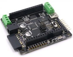 Rainbowduino LED driver platform (Atmega328), Плата светодиодного драйвера