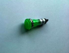 N-769G, Лампа неоновая с держателем зеленая 220V