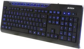 Клавиатура A4 KD-800L, USB, черный