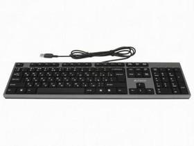Клавиатура A4 KD-300, USB, серый + черный