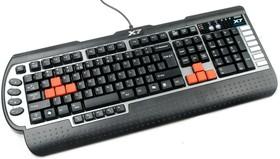 Клавиатура A4 G800V, USB, черный