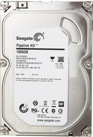"Жесткий диск SEAGATE ST1000VM002, 1Тб, HDD, SATA II, 3.5"""