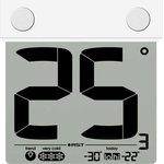 01288, Термометр цифровой уличный на липучке -30-+70