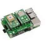 Фото 3/5 MIKROE-1879, Pi 2 click SHIELD, Плата расширения для подключения модулей mikroElektronika серии click (mikroBUS) к Raspber Pi B+/ 2