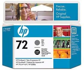 Печатающая головка HP №72 C9380A, фото черный / серый