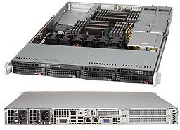 "Платформа SuperMicro SYS-6017R-WRF 3.5"" SAS/SATA С602 1G 2P 2x750W"
