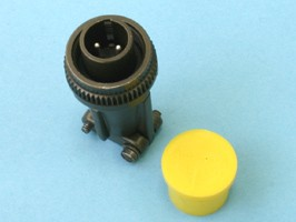 MS3106E-12S-3P, Разъём серии MS 2 контакта, вилка на кабель