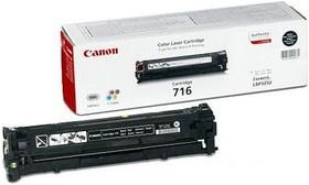 Картридж CANON 716BK 1980B002, черный