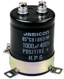 Фото 1/2 ECAP (К50-35), 1000 мкФ, 400 В, 85°C, KP, Конденсатор электролитический алюминиевый