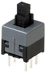 MPS-850N-G, кнопка без фикс. 8.5мм 30В 0.3А
