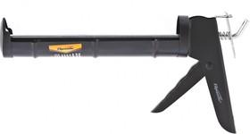 """886365, Пистолет для герметика, 310 мл, """"полуоткрытый"""", круглый шток 7 мм, утолщенные стенки"""