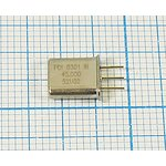 Фильтр кварцевый 45МГц 2-го порядка с полосой 7,5кГц, 1-ая гармоника ...