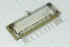 Индикатор вакуумный ИЛЦ3-5/7 тип1, 5030 G ИЛ цифр-мнемон\ 99x34x10\1+4\ зел\17P\ИЛЦ3-5/7 тип1, Россия | купить в розницу и оптом
