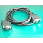 XYC024, Кабель мониторный VGA,SVGA HDB15M-HDB15M (1.8м)