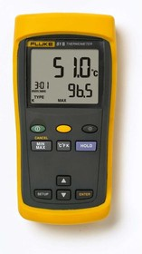 Fluke 51 II, Измеритель температуры с термопарой -250+1370C° (Госреестр РФ)