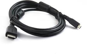 SN1048, Кабель HDMI вилка - micro HDMI (D вилка), с ф/фильтрами, 1.8м