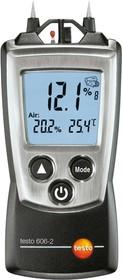 Фото 1/3 testo 606-2, Прибор для измерения влажности древесины и стройматериалов