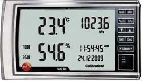 Фото 1/3 Testo 622, Термогигрометр с отображением абсолютного давления (Госреестр)