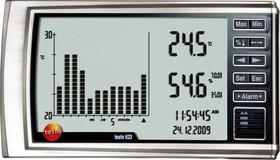 Фото 1/3 testo 623, Термогигрометр с функцией сохранения истории измеренных значений (Госреестр)