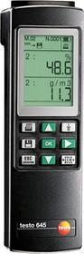 Фото 1/3 testo 645, Прибор измерения влажности и температуры (Госреестр)
