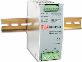 DR-UPS40, Вспомогательный модуль, контроллер заряда батареи, вход 24-29В, выход 24В,40А